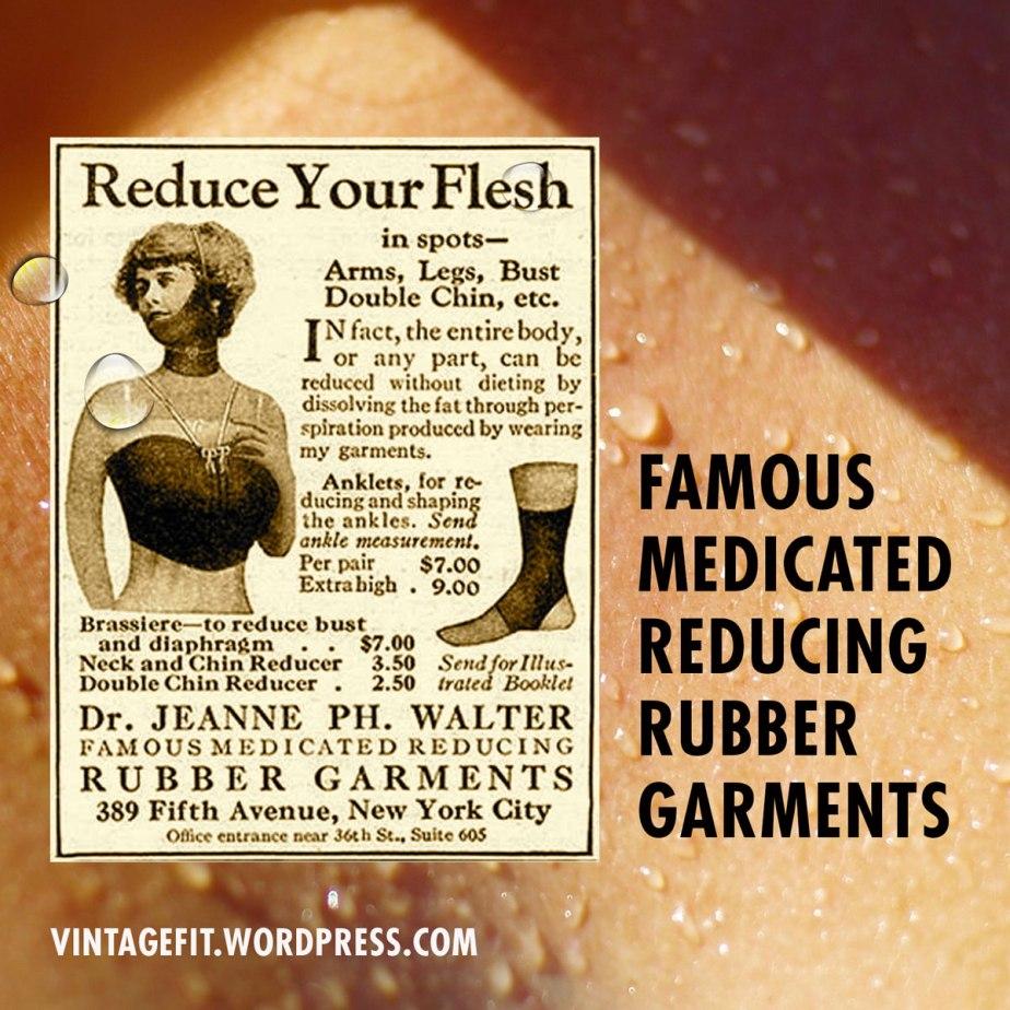 rubber garment ad